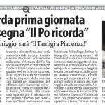 Quotidiano La Libertà - Il Po ricorda - Il Tamigi a Piacenza
