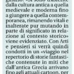 """Quotidiano La Libertà - Conferenza """"Da Medusa ai Cosplay"""" - Biblioteca Passerini Landi, Piacenza"""