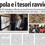 Quotidiano La Libertà - L'ascesa virtuale alla cupola di Santa Maria di Campagna