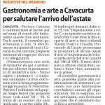 Quotidiano La Libertà - Degustazione a colori, Cavacurta
