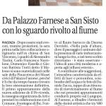 Quotidiano La Libertà - Il Po ricorda - Piacenza la piccola cosmopolita