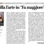 Quotidiano Il Cittadino - Arte in FA maggiore, Casalpusterlengo